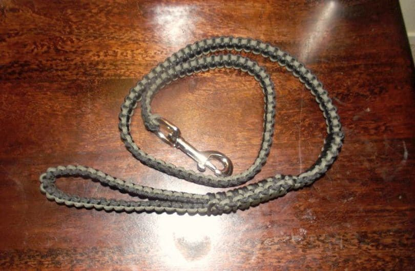 collar de perro de la cobra de la puntada