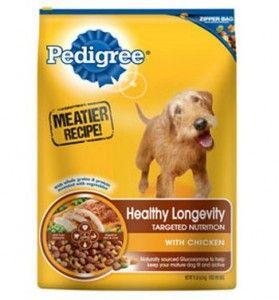 Pedigrí lanza meatier Receta Pienso para perros