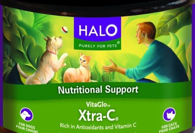 Halo Vita Glo Xtra-C instantánea vitamina C-Concentrado