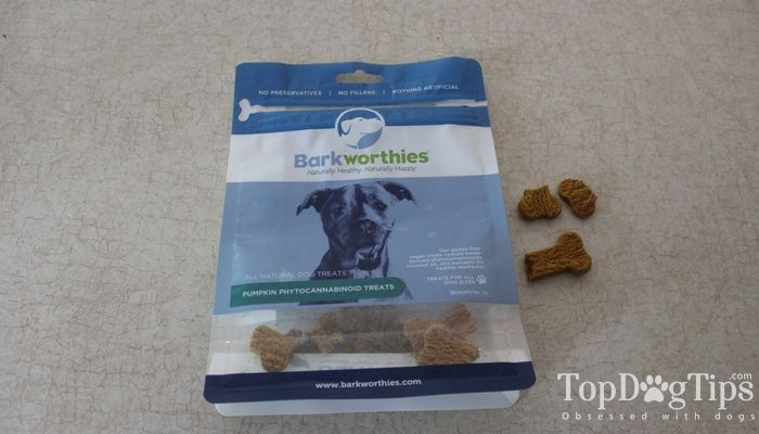 Barkworthies CDB Dog Treats Comentario