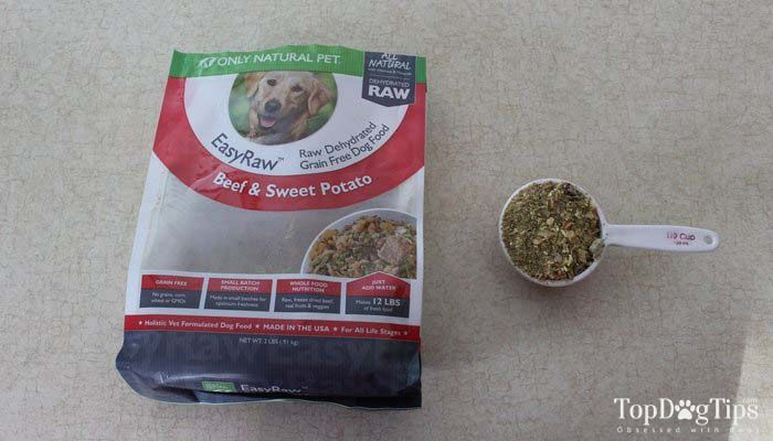 Sólo Natural Pet EasyRaw deshidratada revisión pienso para perros