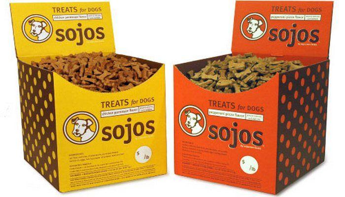 Sojos alimentos crudos Perro y Trata de la opinión
