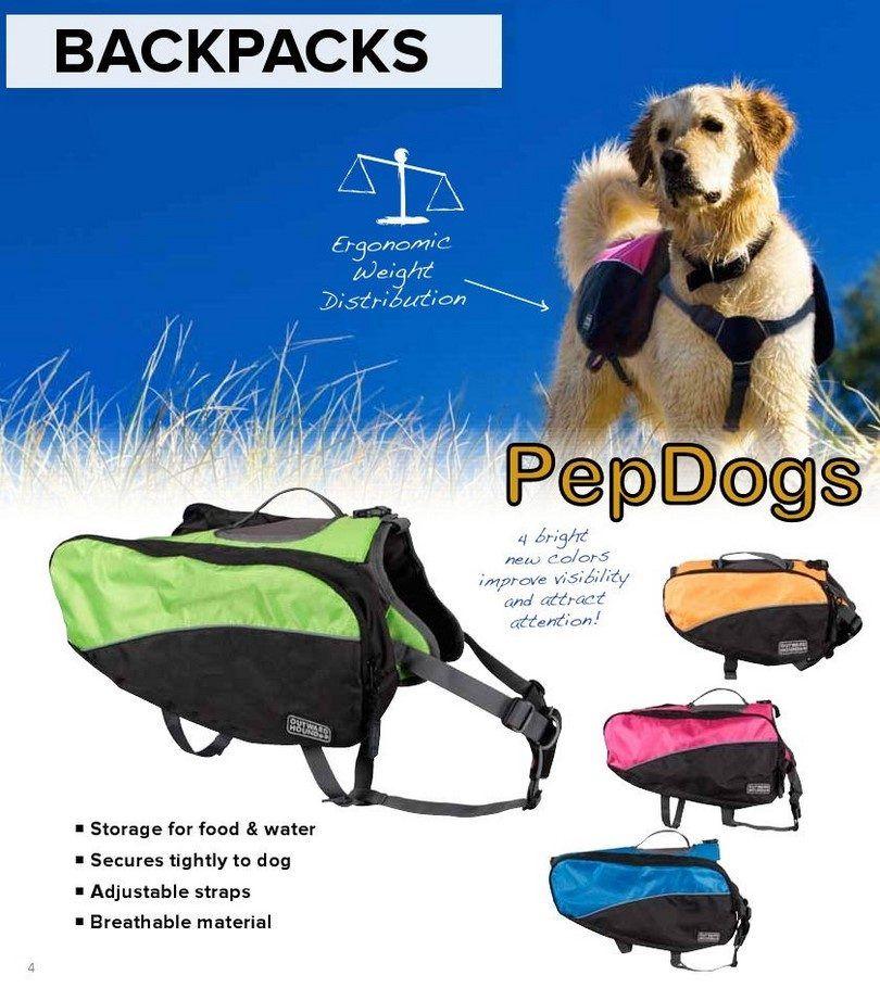 mochilas para perros PepDogs