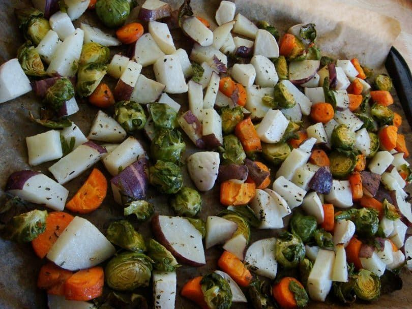 Mezcla de verduras para cachorros