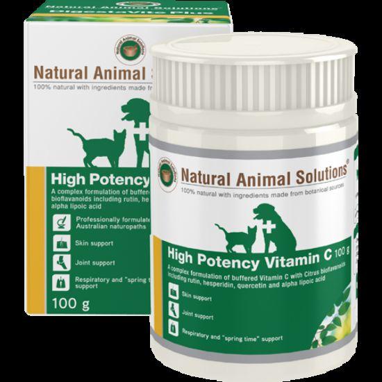 la vitamina C para perros