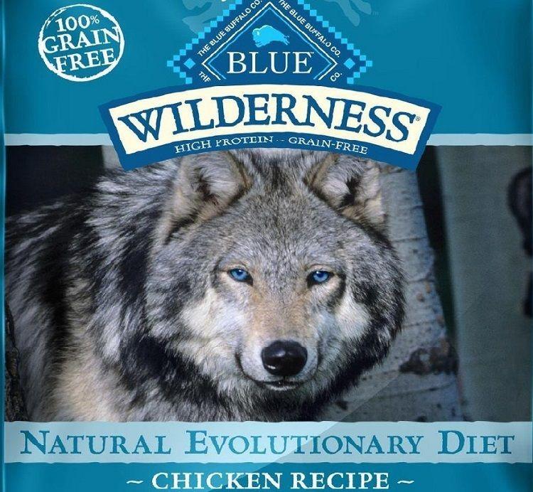 Fórmula perro azul Buffalo desierto adulto sano Peso pollo
