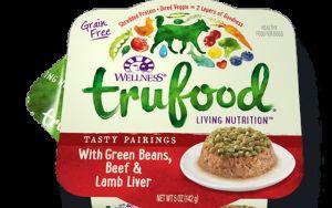 Wellness alimentos para mascotas que las bolsas se upcycled