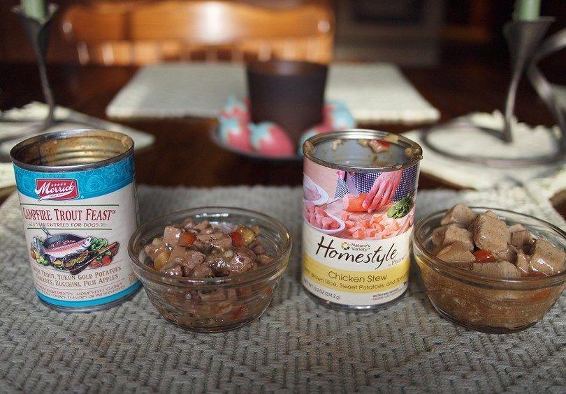 alimentos húmedos y enlatados